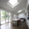 Vaulted Ceiling gives feeling of Space and Light