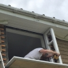 Installation of square bay window
